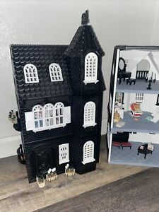 Gothic Victorian  dollhouse Calico Critters Mansion
