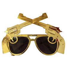 Cross pistols glasses,fun party glasses,novelty glasses,cross revolvers glasses