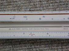 Rechenschieber Faber Castell 4/22 BUSINESS  (57,5 cm)   incl. Etui
