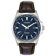 -NEW- Citizen World Time Eco-Drive Watch BX1000-06L