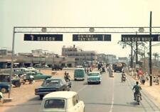 Photo. 1969-70. Saigon. Traffic near TSN gate