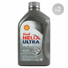 Shell Helix Ultra 0w-30 A5/B5 Fully Synthetic Engine Oil 2 x 1 Litre 2L