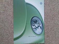 The New VW Volkswagen Beetle Brochure 1998 / 1999