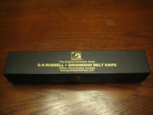 Grohmann D.H. Russell Knife #1 Canadian Belt Knife New in a Box