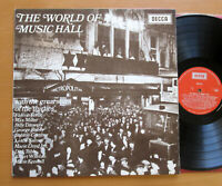 The World Of Music Hall Florrie Forde Max Miller etc 1970 EXCELLENT Decca PA 81