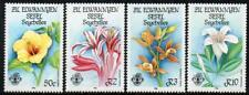 ZIL ELWANNYEN SESEL MNH 1986 SG140-43 Flora