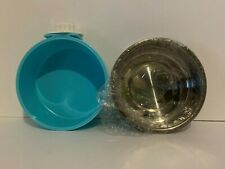 Small Round Dog/Puppy Stainless Steel Hanging Feeder Food/Water Bowl
