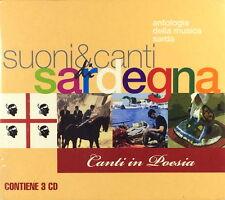 Suoni & Canti Di Sardegna - Canti In Poesia ( 3 CD - Compilation - Box Set )