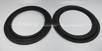 2pcs 6 inch Speaker Surround Repair Foam Subwoofer Repair Edge 155/140/115/105mm