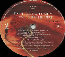 Paul McCartney - Flowers in the dirt unique greek pressing lp