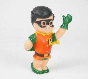 """Robin 1978 DC Comics Super Junior 6"""" Vinyl Squeeze Toy Batman"""