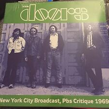 THE DOORS-Live NEW YORK PBS critica APR 28/29 1969-Nuovo-LP Record