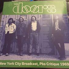 THE DOORS - LIVE NEW YORK PBS CRITIQUE APR 28/29 1969 - NEW - LP RECORD