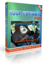 Professional Roof Estimating Software on CD