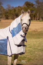 LOVE MY HORSE 6'0 Poly Cotton Ripstop / Soft Mesh Hybrid Cool Summer Combo Blue