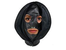 Isolationsmaske mit Reißverschluss Maske schwarz Kopf Maske Art.Nr. 811