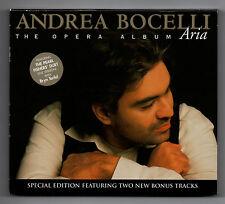 ANDREA BOCELLI - Aria (The Opera Album) - 2005 CD Album with Bonus Tracks