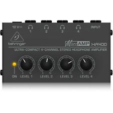 Behringer HA400 MicroAmp Stereo Headphone Amplifier