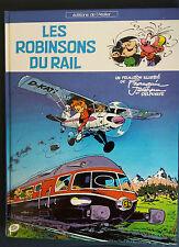 Les Robinsons du Rail EO Franquin Gaston Fantasio Atelier Train