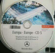 Mercedes Navigation CD Audio 50 APS 2006 - CD5 GREECE ITALIA HUNGARY orange NTG2