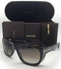 New TOM FORD Sunglasses CARSON TF 441 52K 56-17 Havana Tortoise w/Brown Gradient
