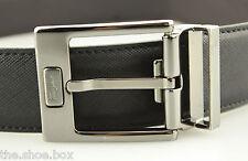Men's SALVATORE FERRAGAMO 'Reversible' Black/Brown Leather Belt - Size 30