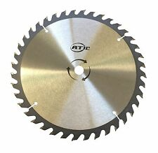 "9"" 40T Tooth General Purpose Wood Cutting  Circular Saw Blade w/ 5/8"" Arbor"