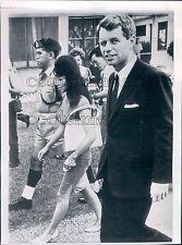1964 Atty Gen Robert Kennedy in Kuala Lumpur Malaysia Press Photo