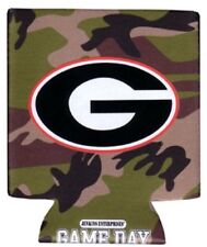 Uga Georgia Bulldogs Koozie Can Pocket Coolie Drink Caddy Camo Design