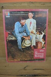 The Norman Rockwell Series - Breaking Home Ties - 1000 Pieces - VTG SEALED RARE