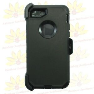 For Apple iPhone 8 / 8 Plus Defender Case Cover(Belt Clip Holster Fits Otterbox)