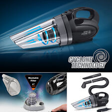 Car Vacuum Cleaner Handheld Portable Super Cyclone Wet Dry 12V 150W 13ft Dirt