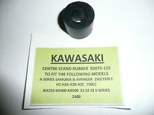KAWASAKI A1 SAMURAI MODEL'S CENTRE STAND RUBBER PART NUMBER 92075-115