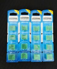 LISTERINE Ultraclean Access Flosser Refills - 28 Count Lot of (4) Brand New