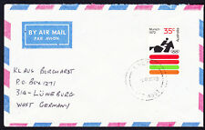 1973 Australia 35c Rate Air Mail Cover to W. Germany 1972 Olympics Equestrian