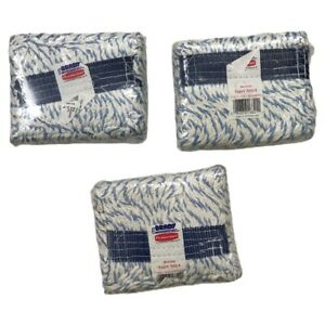 Rubbermaid SET OF 3 FGD21206WH00 Super Stitch White Blended Cotton Mop Head