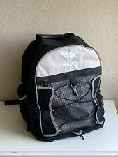 Tyr Transition Backpack Bag, Swim Bike Triathlon, Black Excellent!