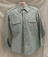 US Military Men's Army Long Sleeve Dress Shirt, AG415, New