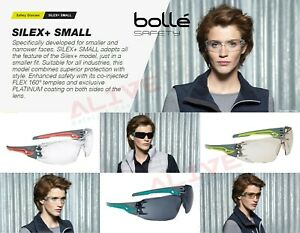 Bolle Safety Glasses SILEX+ SMALL Anti-fog & Anti-scratch Sporty UV protection