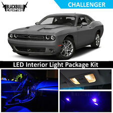Blue LED Interior Lights Package Accessory Kit fits 2015-2018 Dodge Challenger