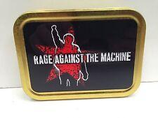Rage Against the Machine Rock Band Music Cigarette Tobacco Storage 2oz Tin