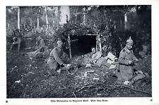 Villa Malepartus im Argonner Wald 1914 * WW 1