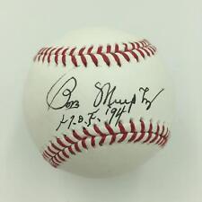 """Rare Bob Murphy """"Hall Of Fame 1994"""" Signed MLB Baseball New York Mets SGC COA"""