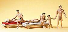 Figuren Preiser H0 (10439): Paare am FKK-Strand