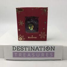 Waterford Crystal Small Apple Christmas Ornament Mini Apple Teacher Snow White