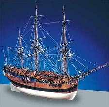 "Beautiful, Intricate Wooden Model Ship Kit by Caldercraft: ""Hm Bark Endeavour"""