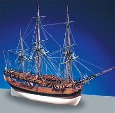 "Beautiful, Intricate Wooden Model Ship Kit by Caldercraft: ""HM Bark Endeavour"""