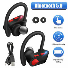 Universal Wireless Bluetooth 5.0 Headset Sports Mic Headphone Earphone Handsfree
