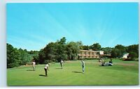 The Thompson House Evergreen Lodge Golf Windham NY Postcard D73