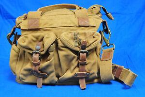 Kakadu Australia Outback Tote Crossbody Shoulder Utility Camera Bag Canvass
